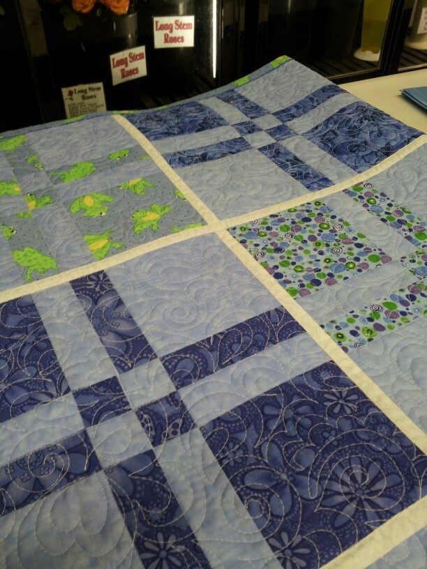Quilt as you go!