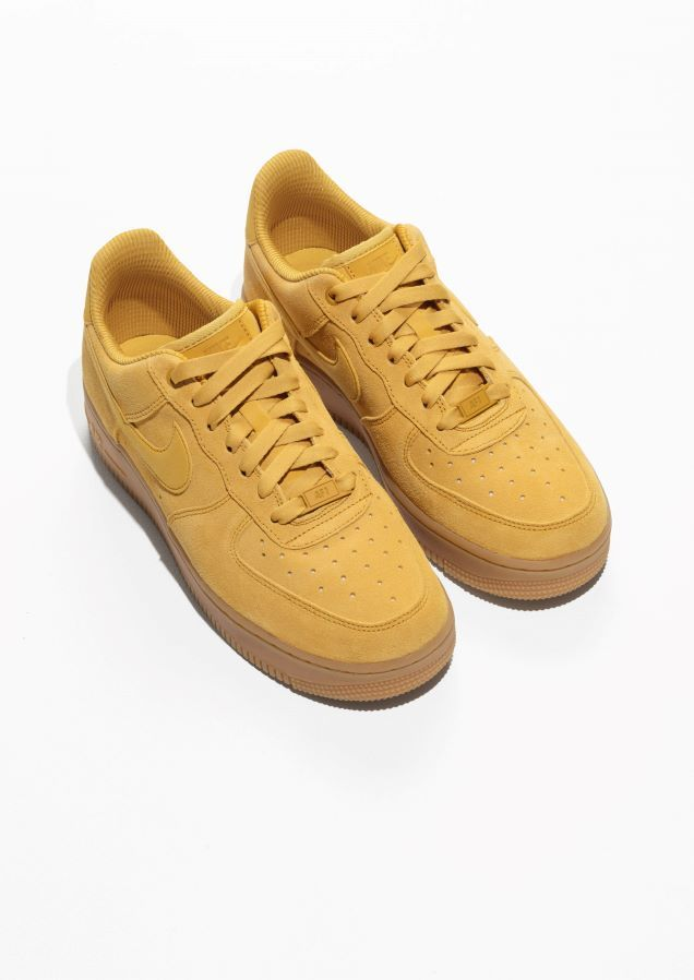 sale retailer 004e1 d2ec6 Other Stories image 2 of Nike Air Force 1  07 in Mustard