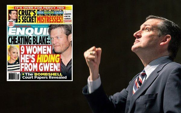 The National Enquirer published a story this week claiming evidence of multiple sexual trysts by presidential candidate Senator Ted Cruz.And yes, it is dubbed the Cuban Mistress Crisis.