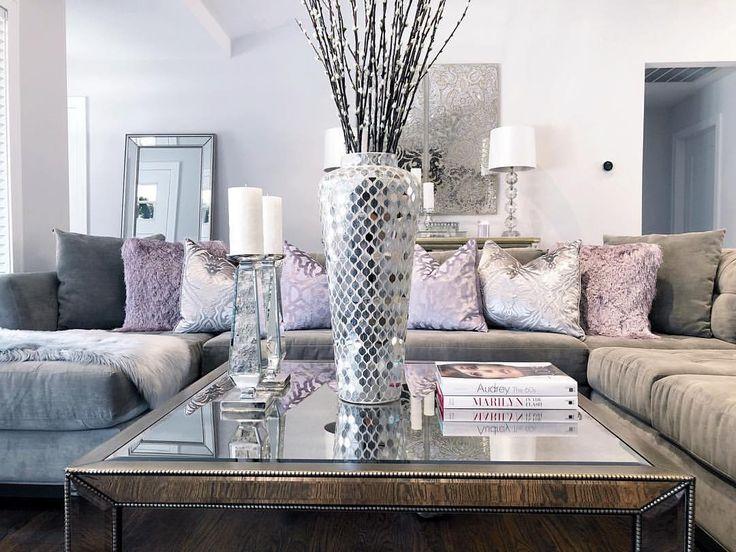 Z Gallerie Decor Home Decor Inspo Purple Accents Glam ...