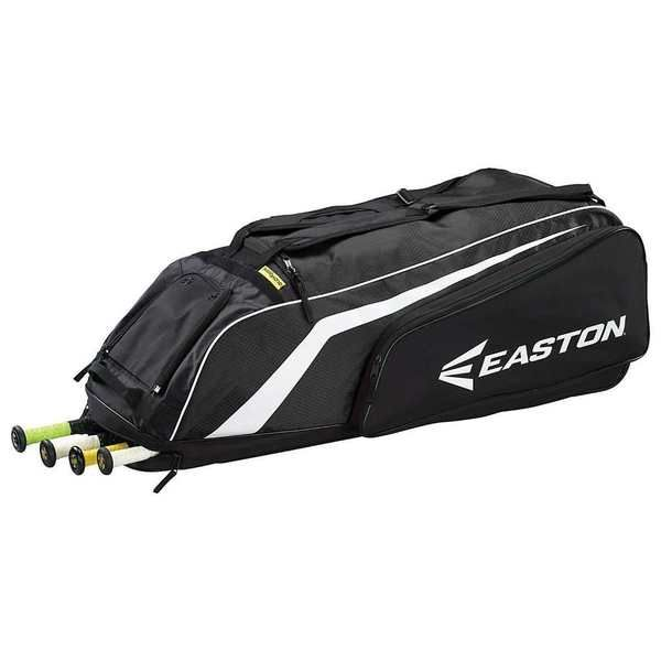 Easton Walk-Off Wheeled Baseball/Softball Bat Bag (Black) A163134BK