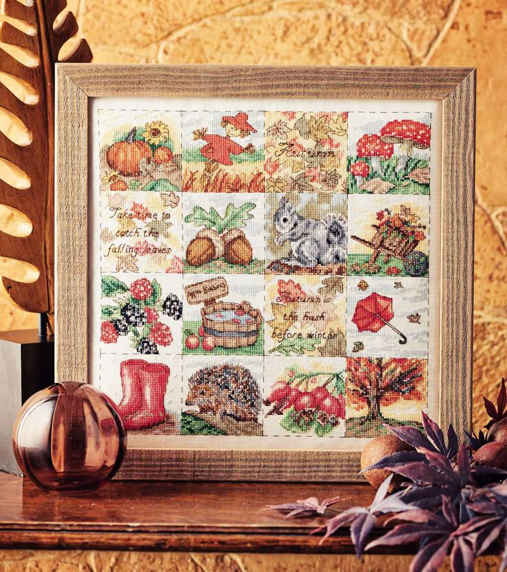 Seasonal Sampler - Project Available in Cross Stitch Collection 253