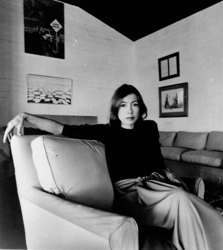 The latest in the triumph of the smart girls: Joan Didion