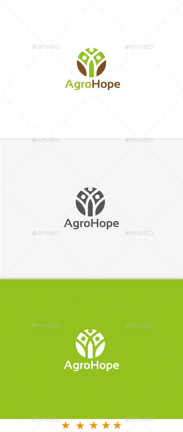 Agro Hope Logo Design Template Vector #logotype Download it here: http://graphicriver.net/item/agro-hope/10989155?s_rank=1405?ref=nexion