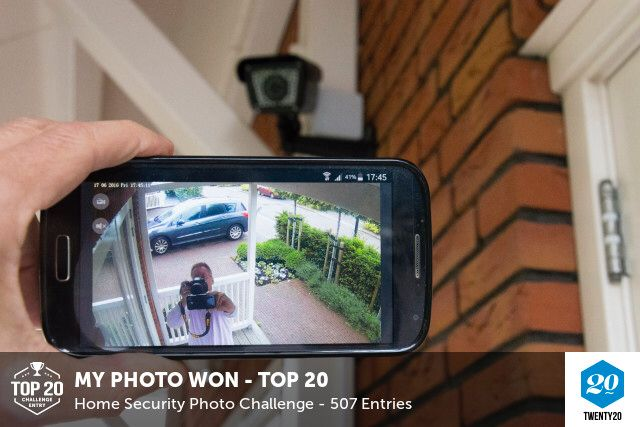 My photo was picked in the Top20 in the Home Security challenge on @twenty20app.