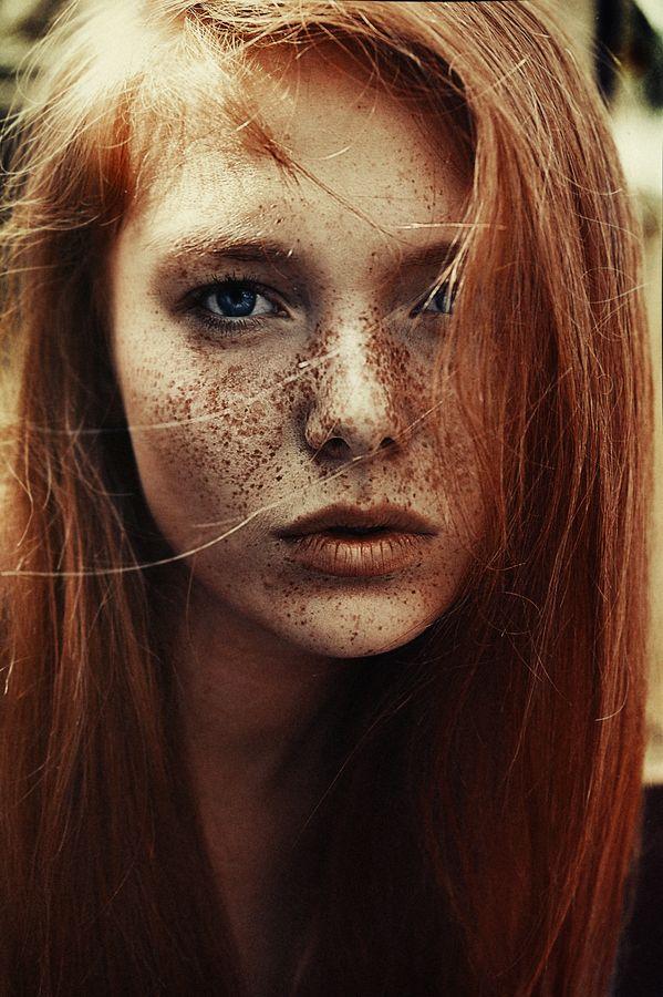 Lena busty redhead