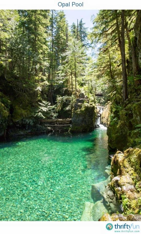 Opal Creek Oregon