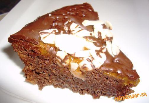 Čokoládový koláč bez múky aj ako tip na Valentína...