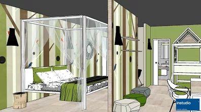 Family Room per Hotel. L'ambientazione è pensata per offrire un'occasione in più per lo svago degli ospiti