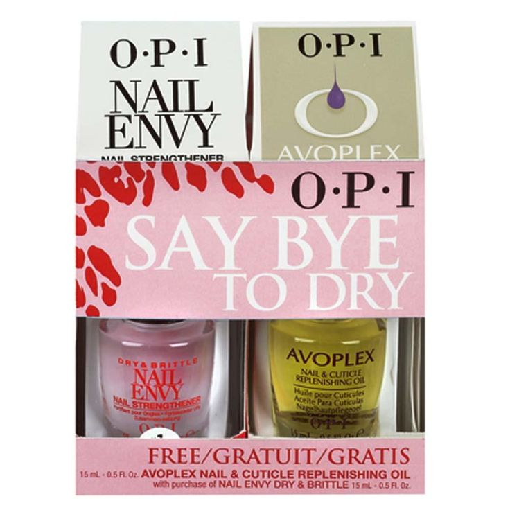OPI - Say Bye to Dry - BUY Nail Envy Dry & Brittle GET Avoplex Nail & Cuticle Replenishing Oil FREE