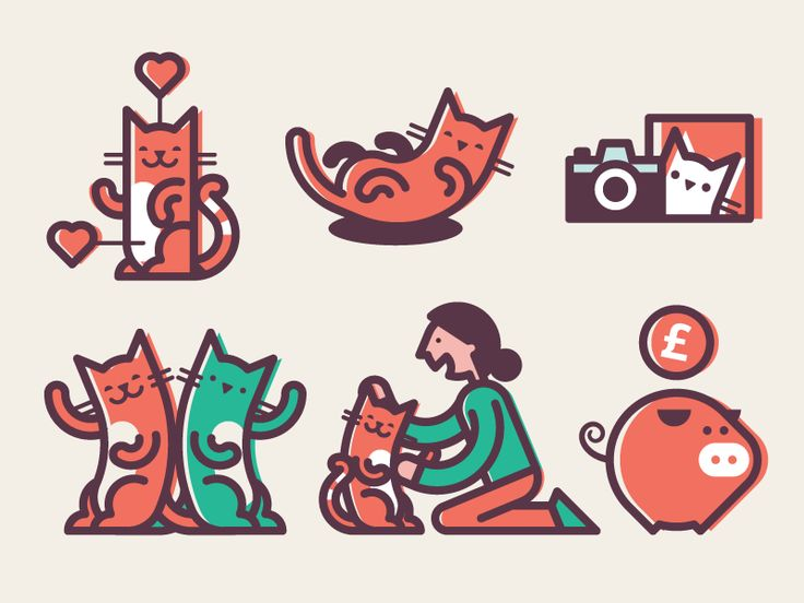 Cat Icons by Cookie