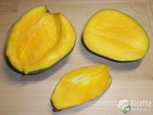 Ricetta per Come pulire e tagliare il mango