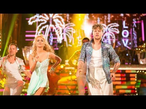 Jay McGuiness & Aliona Vilani Salsa to 'Cuba' - Strictly Come Dancing: 2015 - YouTube
