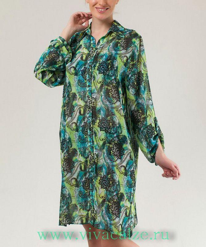 F59206 Пляжное платье Коллекция GROUP 6.  Великолепное пляжное платье с роскошным принтом будет прекрасным дополнением к купальнику из коллекции GROUP 6.