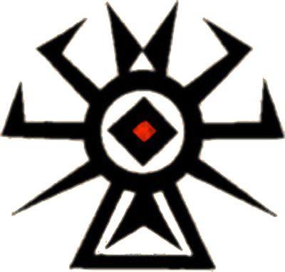 Osage tribal symbol セージ部族のシンボル