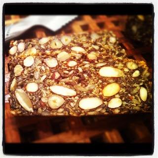 Stenalderbrød - Stoneage bread
