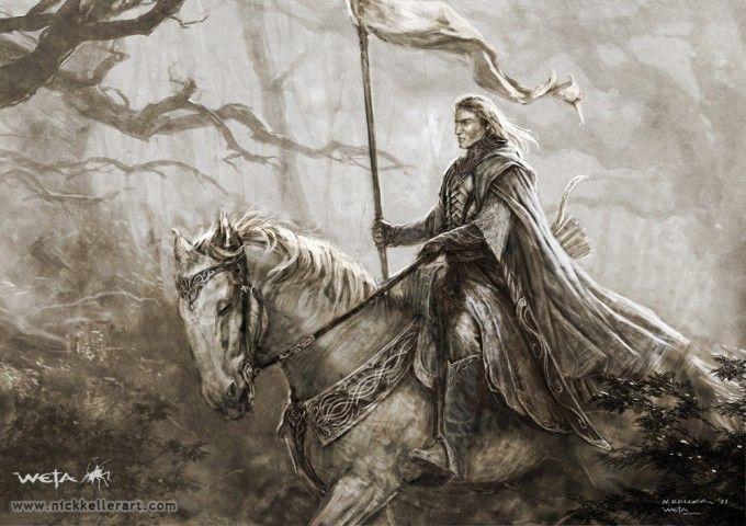 The Hobbit concept art by Nick Keller