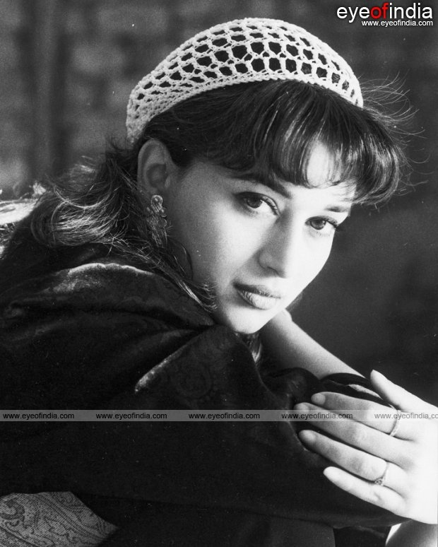 Madhuri Dixit - Number 1 actress as from the  late 80's.
