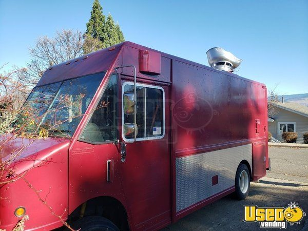 Lightly Used 22 Freightliner Mt45 Diesel Step Van Mobile Kitchen Food Truck For Sale In Oregon Food Truck For Sale Step Van Freightliner