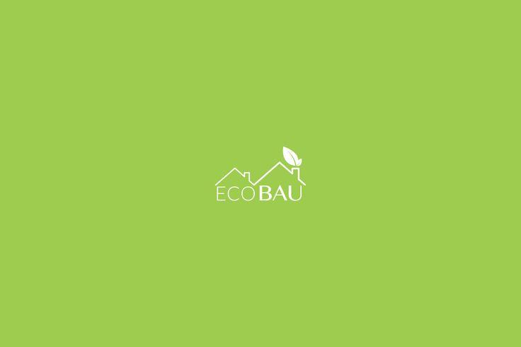 Identyfikacja wizualna dla firmy budowlanej Eco Bau. #design #branding #brand #logo #logodesign #minimalism