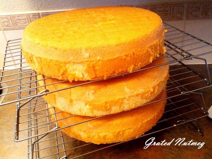 Sponge cake recipe 30 cm square tin