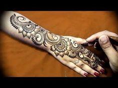 Full Hand Teej Mehendi Design 4 Dulhan| Latest Easy Henna Mehndi Pattern for Hands | MehndiArtistica - YouTube