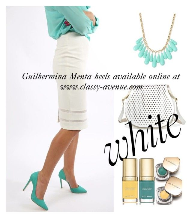 Guilhermina Menta heels! Available online at www.classy-avenue.com by classy-avenue on Polyvore featuring polyvore, fashion, style, Cynthia Rowley, INC International Concepts, Dolce&Gabbana and clothing