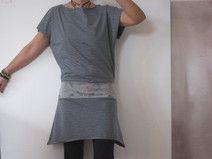 Jersey-Kleid *StreifZug*
