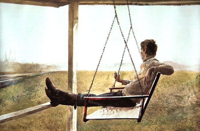 The Swinger   Andrew Wyeth