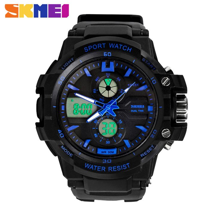 $9.30 (Buy here: https://alitems.com/g/1e8d114494ebda23ff8b16525dc3e8/?i=5&ulp=https%3A%2F%2Fwww.aliexpress.com%2Fitem%2F2016-New-S-Shock-Fashion-Watches-Men-Sports-Watches-Skmei-2-Time-Zone-Digital-Quartz-electronic%2F32754460719.html ) 2016 New S Shock Fashion Watches Men Sports Watches Skmei 2 Time Zone Digital Quartz electronic LED dive Military wristwatches for just $9.30