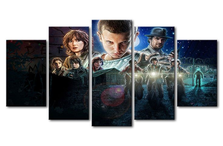 5 Panels Canvas Painting Customized poster Wall Art Painting Modern Home Decor  #Unbranded #ArtDeco