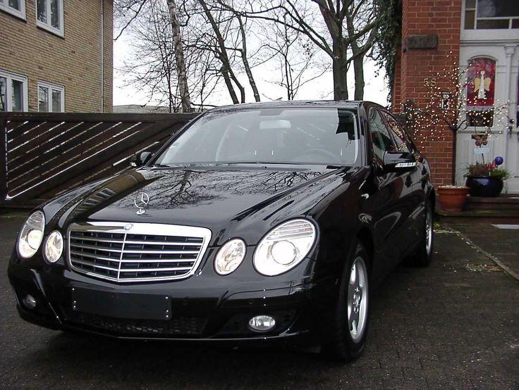 Wunderschöner Mercedes E 200 Kompressor W 211 aus 2006  nur  40150 km aus 1.Hand