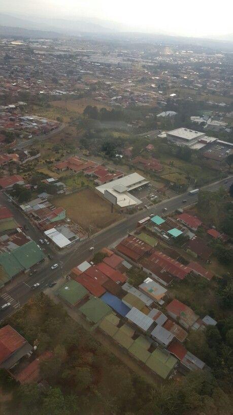 Feb 24-2016 / desde el avión llegando a San José de Costa Rica