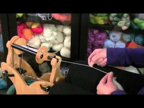 Spinning on a Wheel - Tutorial - Knitting Blooms