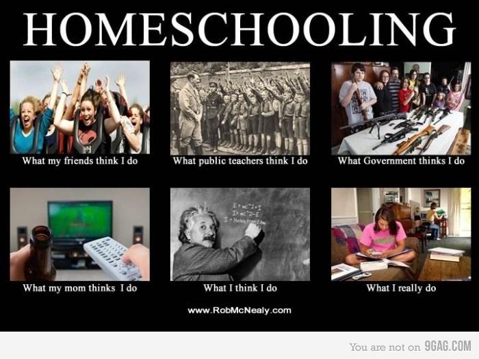 Homeschooling.