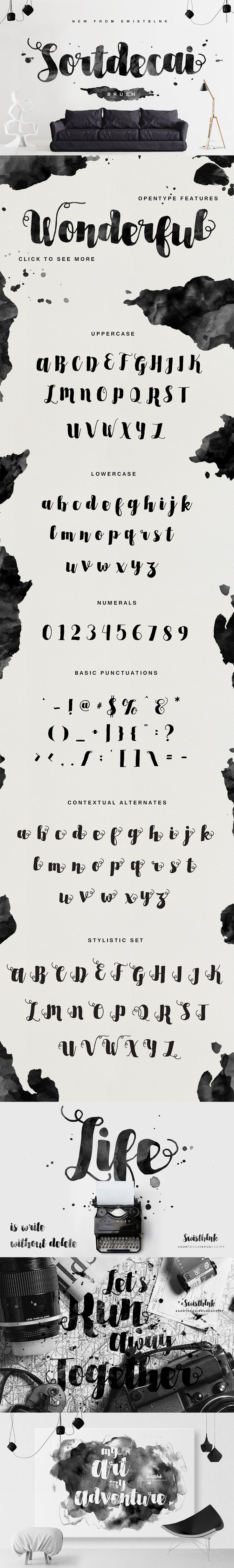 The Freakishly Huge Bundle of 40 Fonts and Bonus Vectors (Plus Web Fonts & Extended Licensing) - Only $39 | MyDesignDeals