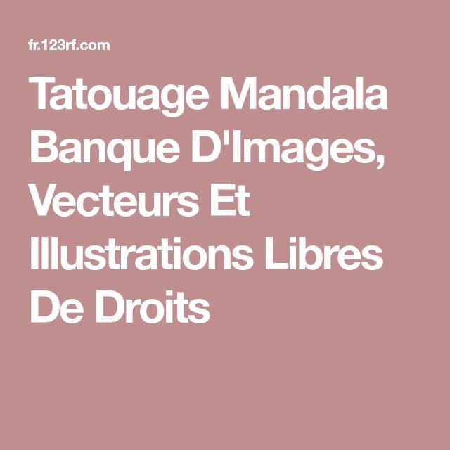 Tatouage Mandala Banque D'Images, Vecteurs Et Illustrations Libres De Droits