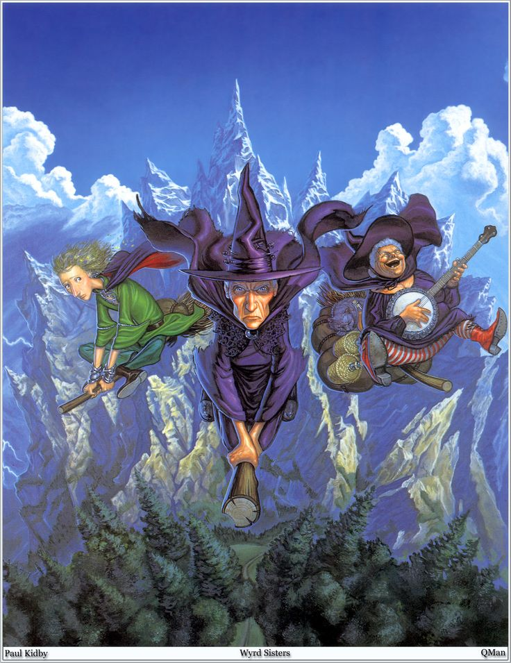 Wyrd Sisters by Terry Pratchett | Academy For The Passionately Curious