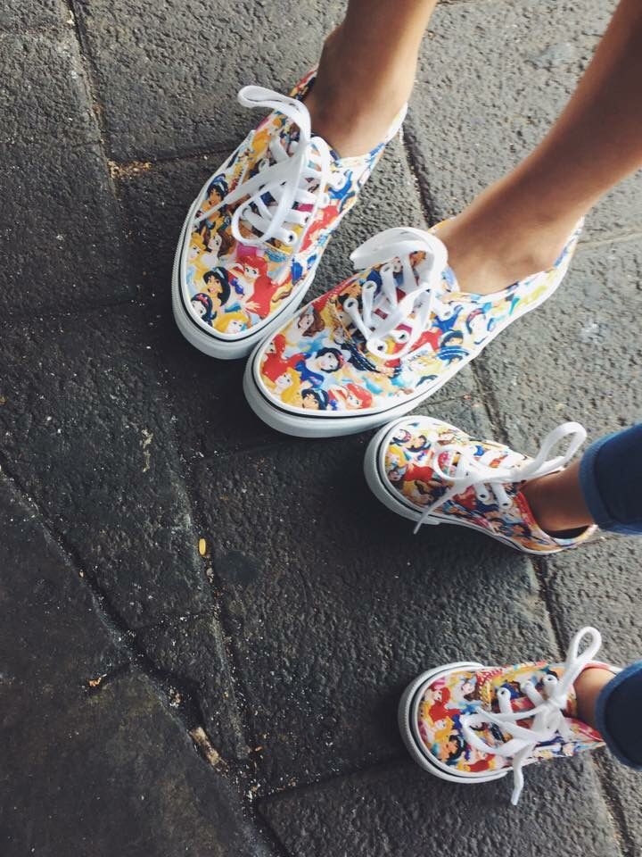 Wifey & daughter's Vans Era Disney Princess