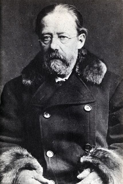 """Bedřich Smetana (1824–1884). Czech composer who pioneered the development of a musical style which became closely identified with his country's aspirations to independent statehood. He is thus widely regarded in his homeland as the father of Czech music. Internationally he is best known for his opera The Bartered Bride, for the symphonic cycle Má vlast (""""My Homeland""""), which portrays the history, legends and landscape of the composer's native land, and for his First String Quartet From My…"""