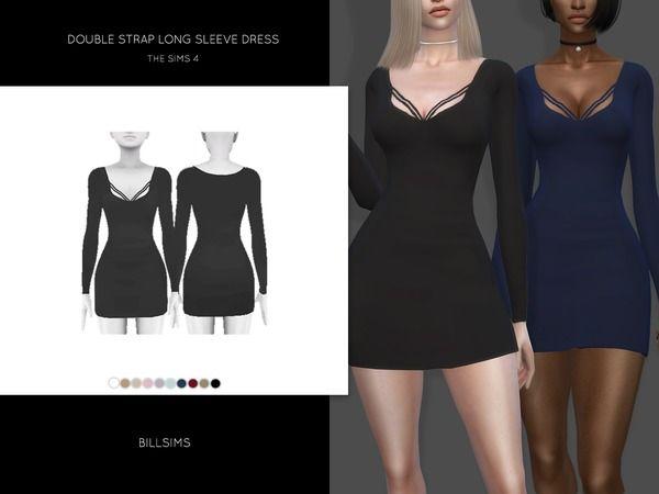 24++ Sims 4 long sleeve dress information