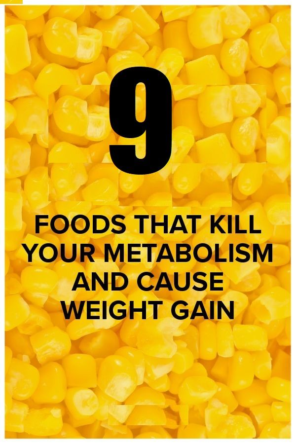 Read our list of foods that slow metabolism. These foods can stop you from losing weight by decreasing your metabolism rate.