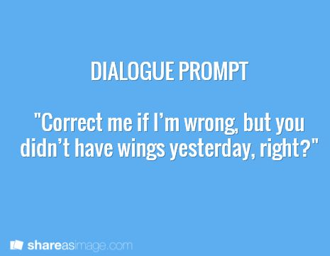 420 best images about Dialogue Prompts on Pinterest   Told you ...