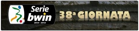 Serie BWin: 38a giornata...scontri nella zona bassa della classifica...guarda i nostri pronostici... www.ladrixscommessa.it