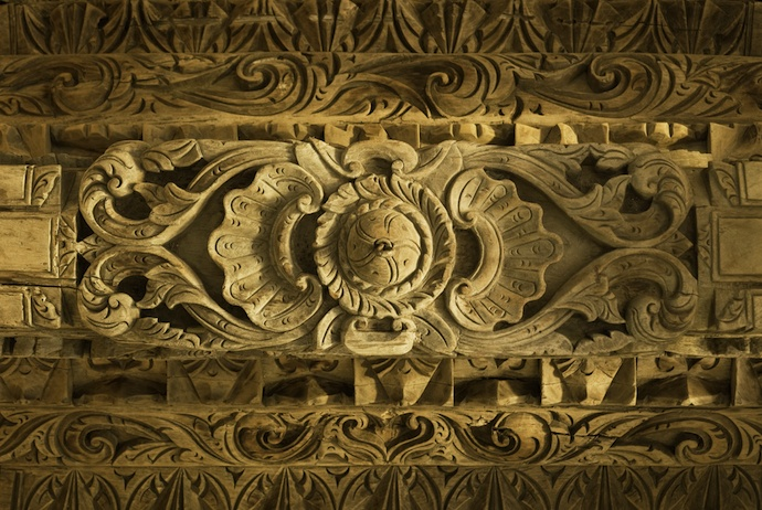 Antique Javanese Wood Ceiling, Khayangan Estates, Bali-Indonesia