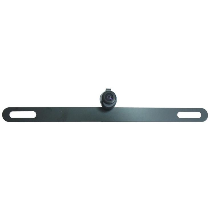 Boyo Concealed 170deg License Plate Camera With Parking-guide Line