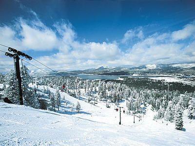 Big Bear resort in the San Bernardino Mountains of Southern California