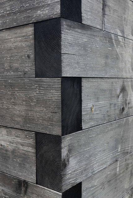 Pavilion Moorraum Krumbach CRISCROSS wood plank