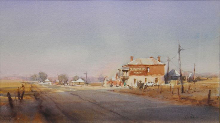 watercolor by Ross Paterson