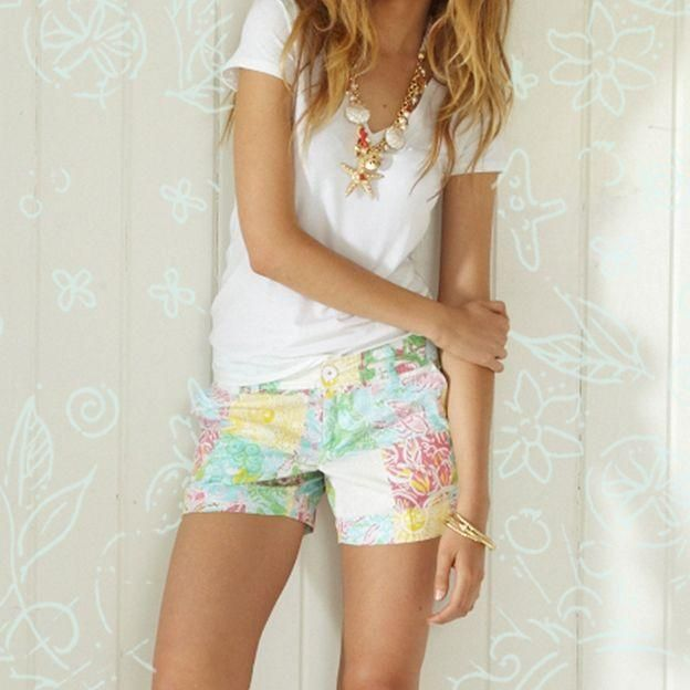 Lilly Pulitzer Summer Shorts